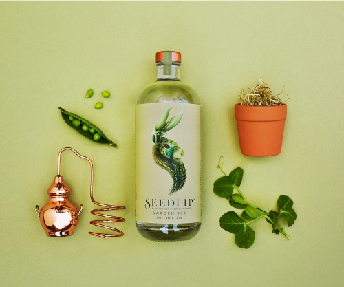 Seedlip non-alcoholic distilled spirit