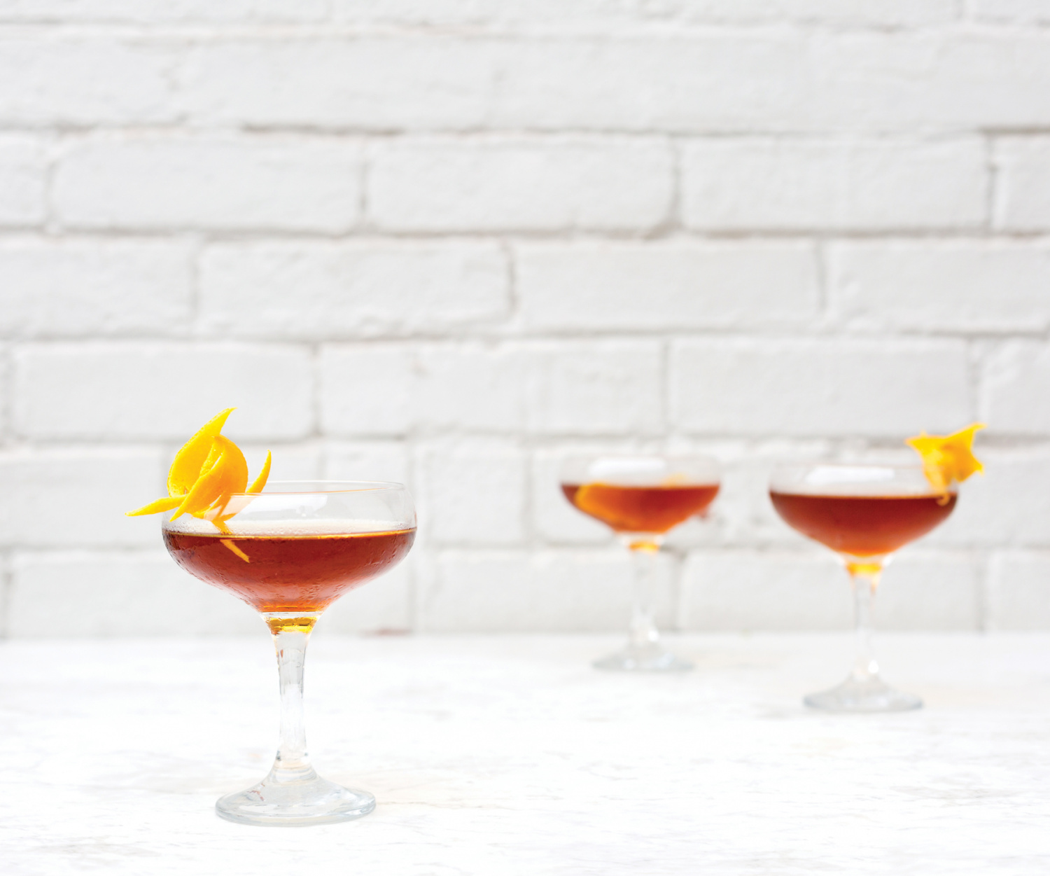A stiff drink recipe with rum and vermouth.