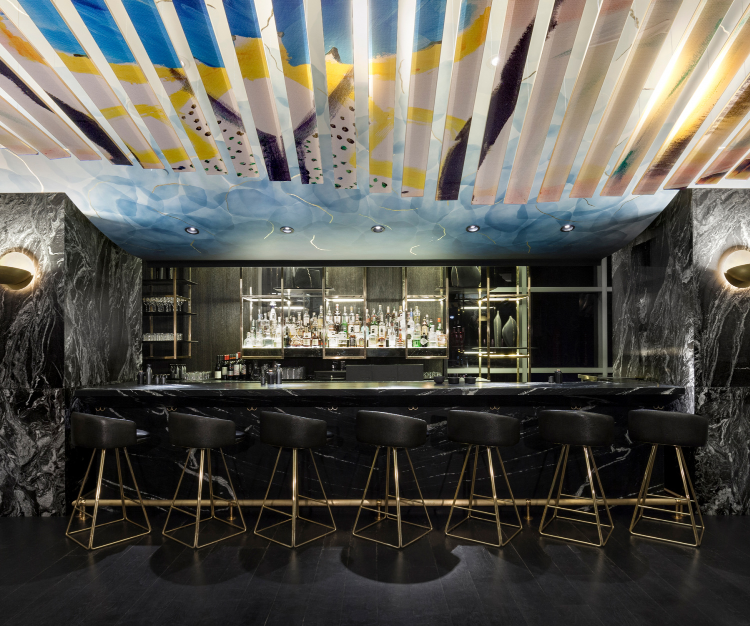 The Bisha Hotel Toronto | The bar inside Akira Back Japanese restaurant