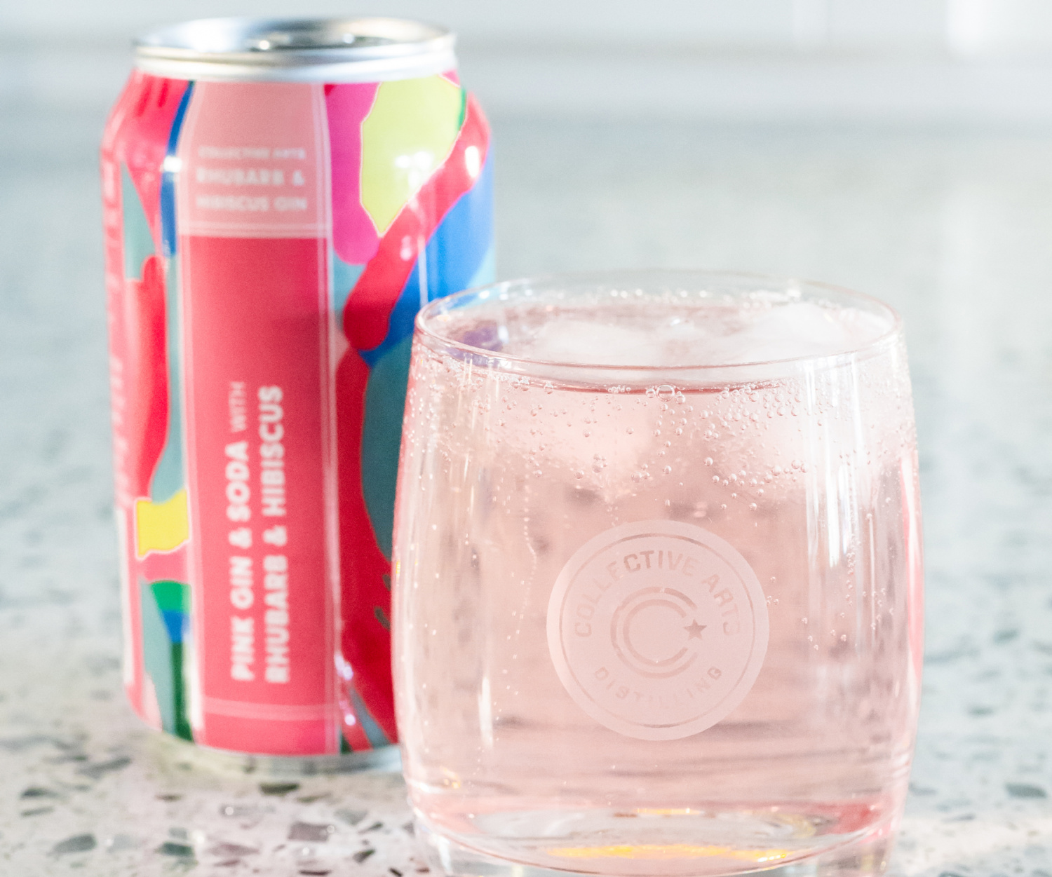 Collective Arts' new Toronto brewery | Collective Arts sparkling gin sodas in a can