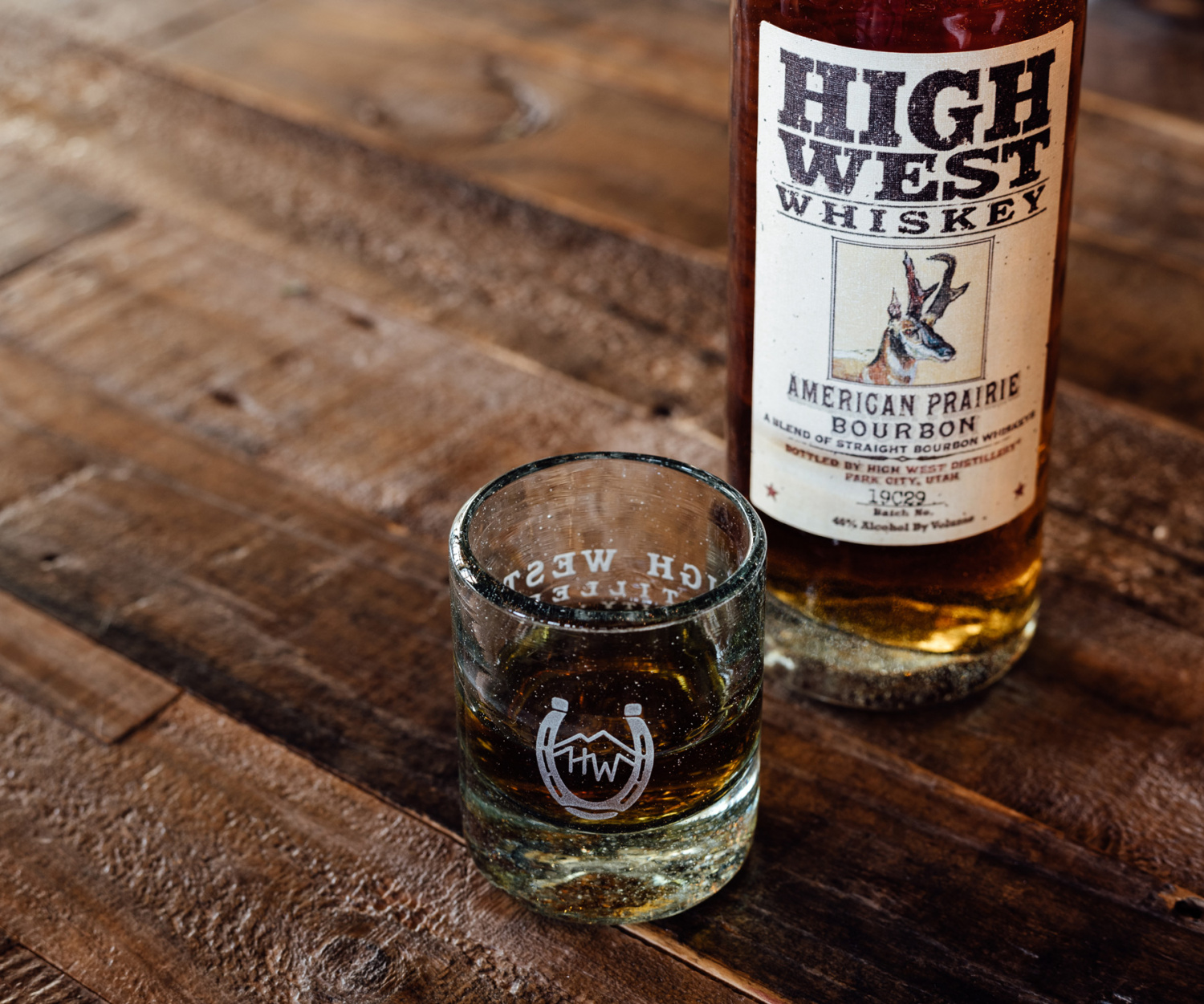 High West American craft whisky is now available at LCBO   A bottle of High West American Prairie Bourbon and a glass