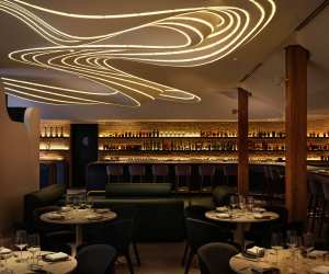 Restaurant review: Vela Toronto | Indoor dining at the stunning King West spot
