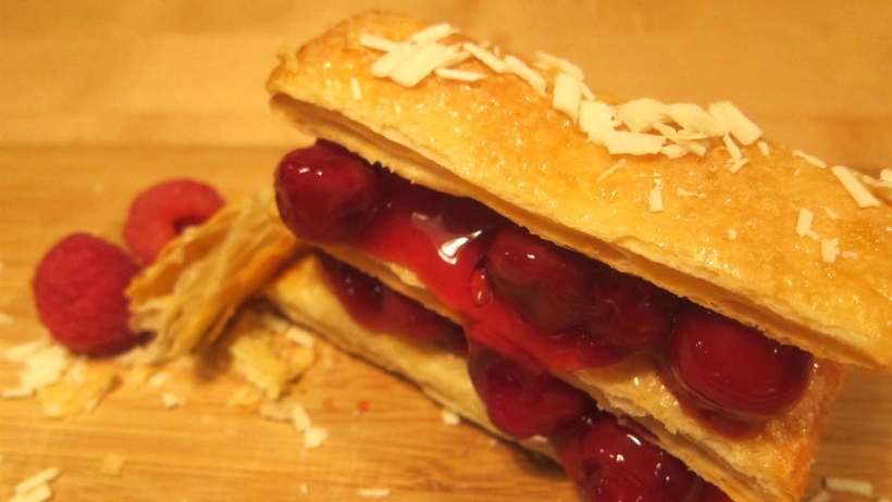 Deconstructed Cherry Pie