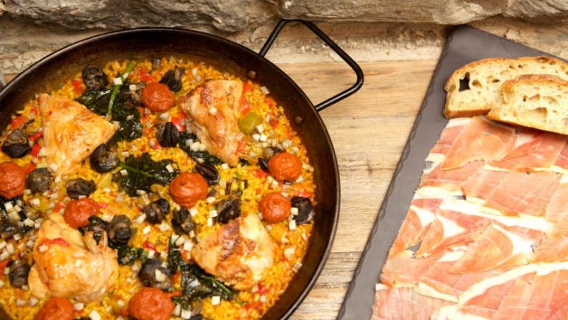 Barsa Taberna's Paella Del Campo