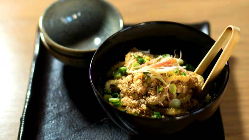 Kasa Moto's Spicy Pork Udon Noodles