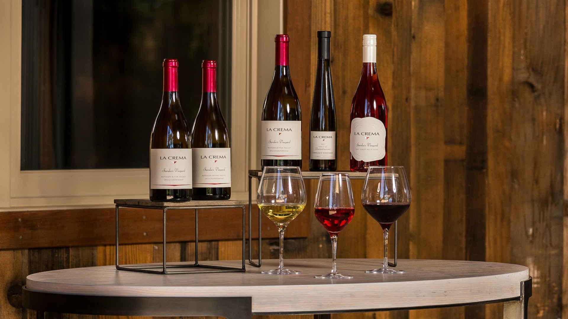 The wines of La Crema Estate at Saralee's Vineyard (Jackson Family Wines)