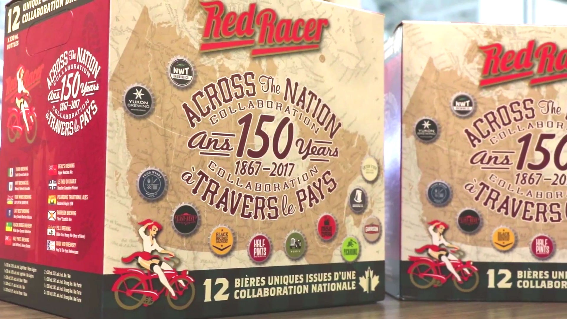 Red Racer Across the Nation Collaboration