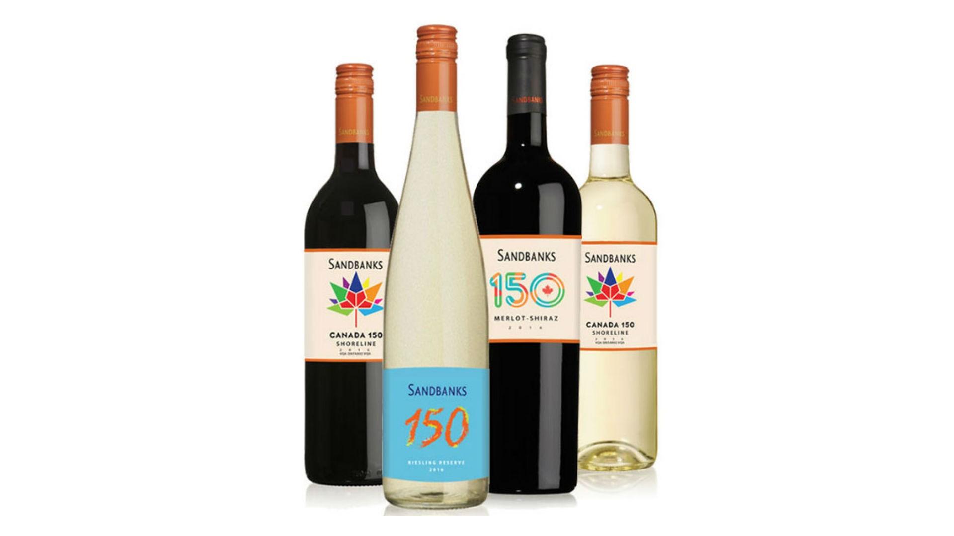 Sandbanks Canada 150 Wines
