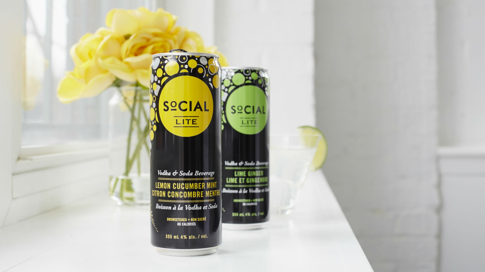 Hard seltzers and sodas | Social Lite Vodka Sodas