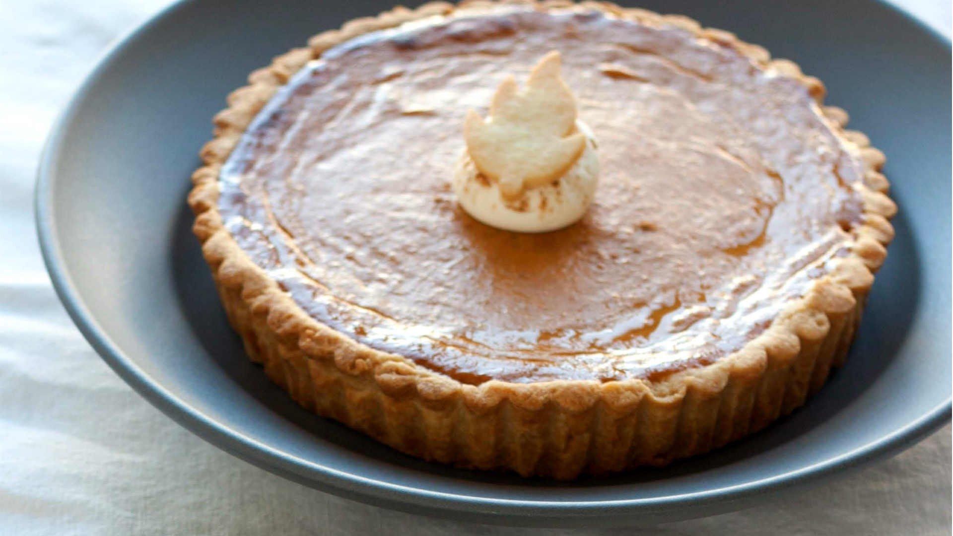 Bobbette and Belle's Pumpkin Pie