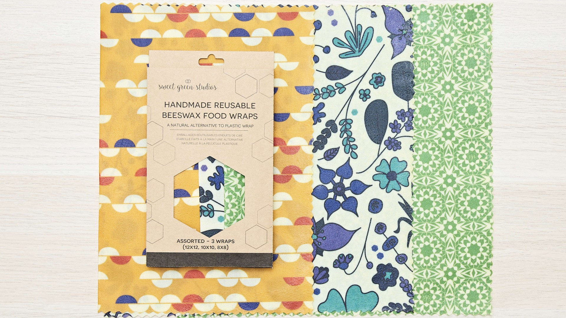 Weapons of Choice: Sweet Green Studios Beeswax Wraps | Foodism TO
