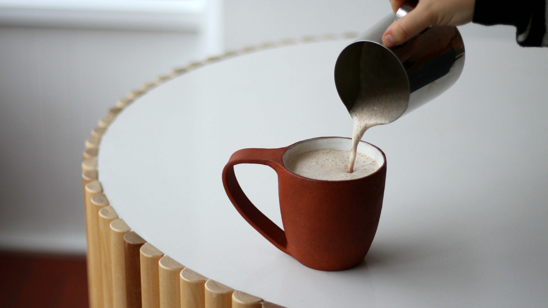 Warm up with cup of hot cocoa