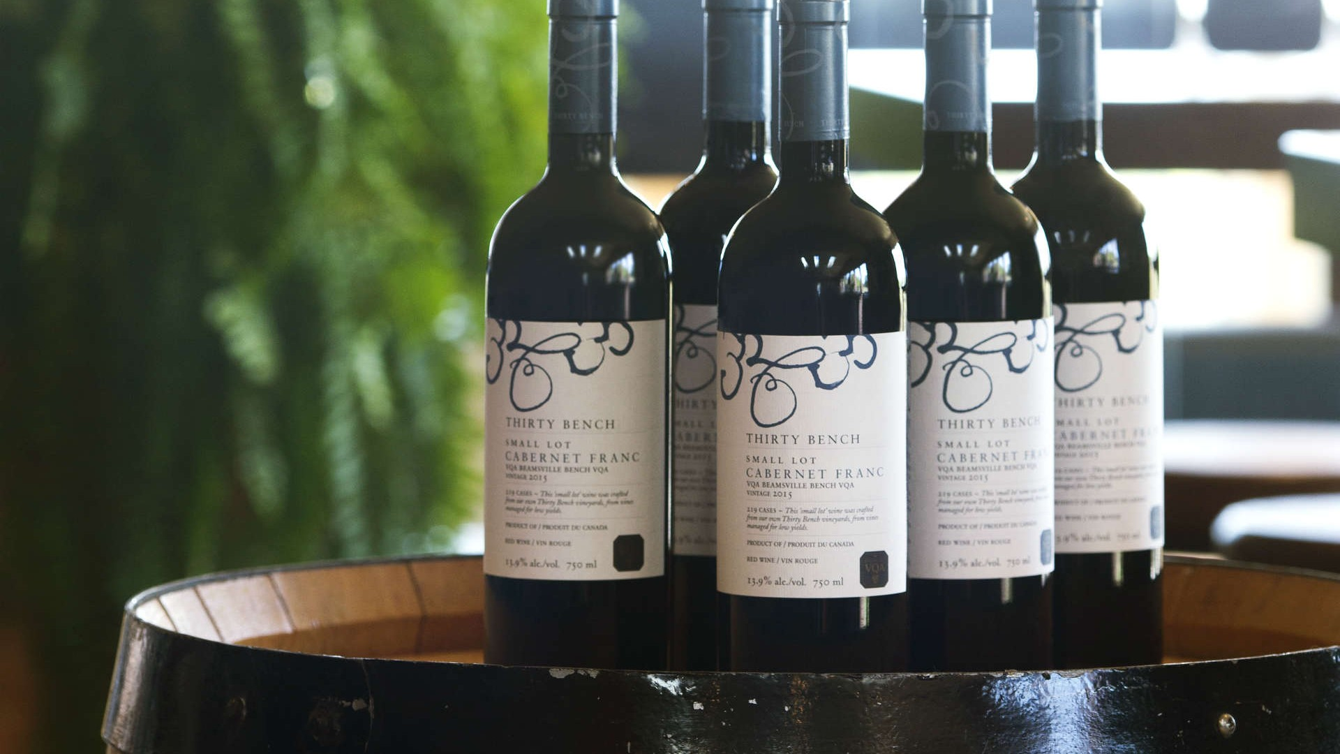 Bottle Service Thirty Bench S 2015 Small Lot Cabernet