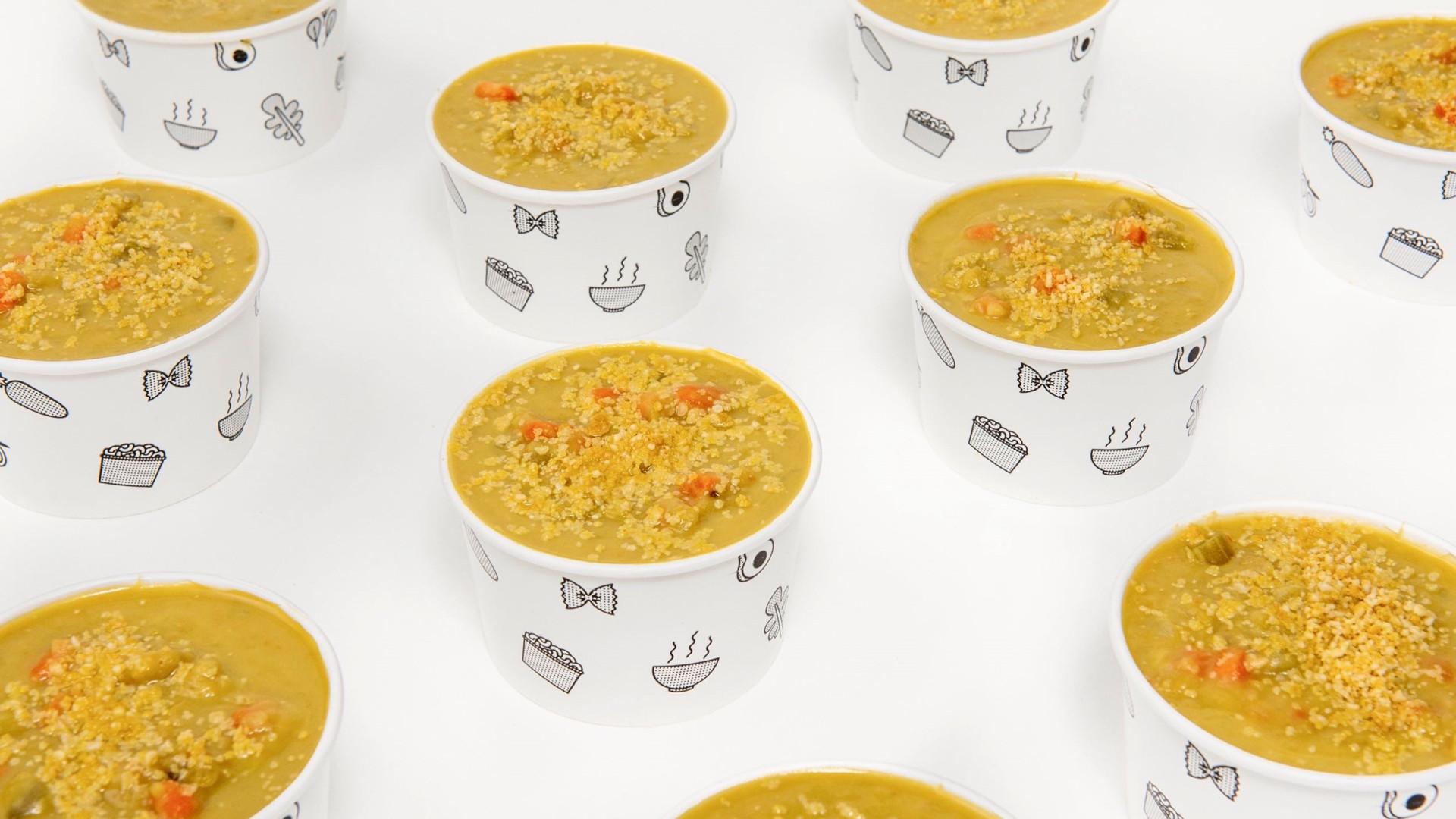 Chloe pea soup