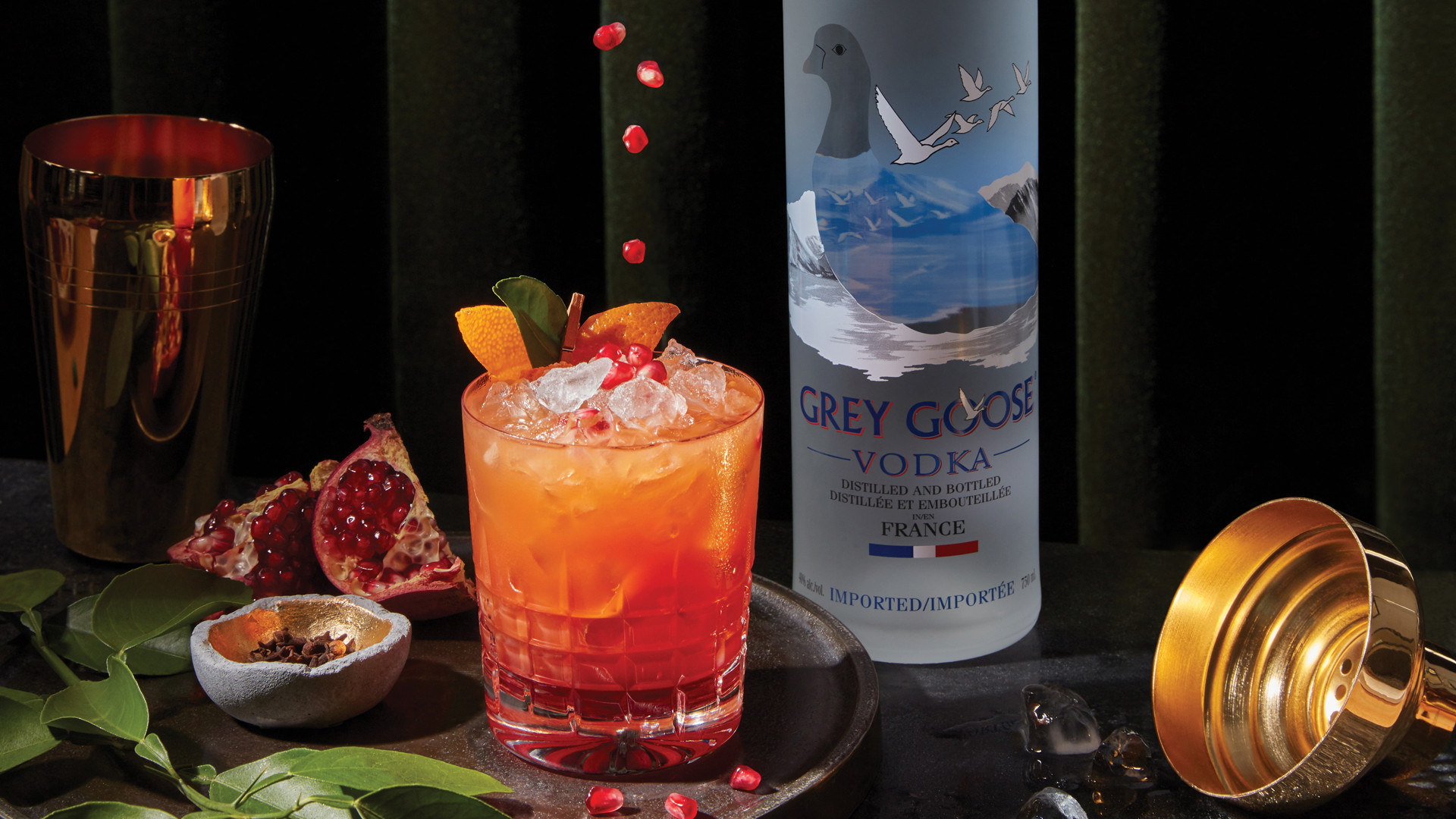 Grey Goose holiday cocktail recipe
