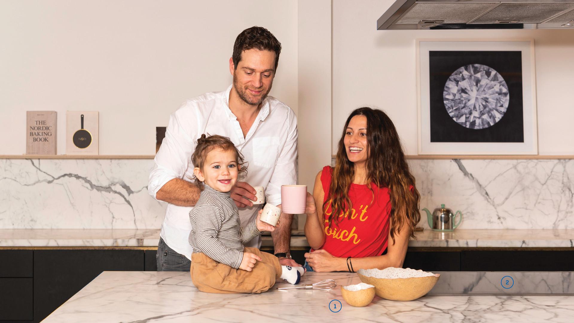 Cory Vitiello, Martina Sorbara and Barlow