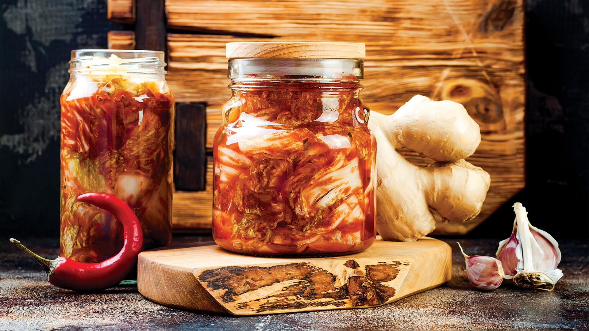 Fermentation: kimchi