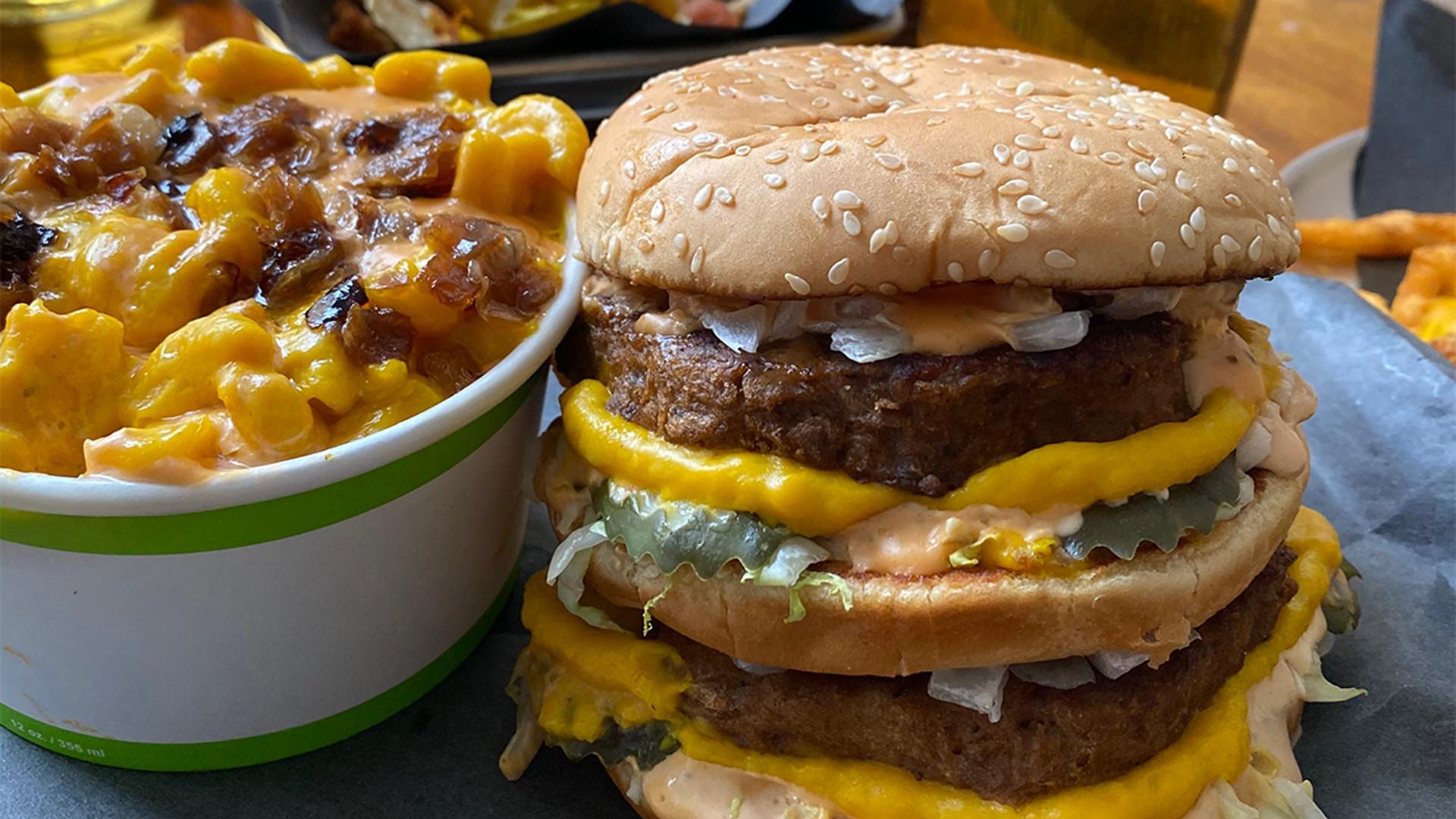 Doomie's vegan Big Mac | Best veggie burgers in Toronto