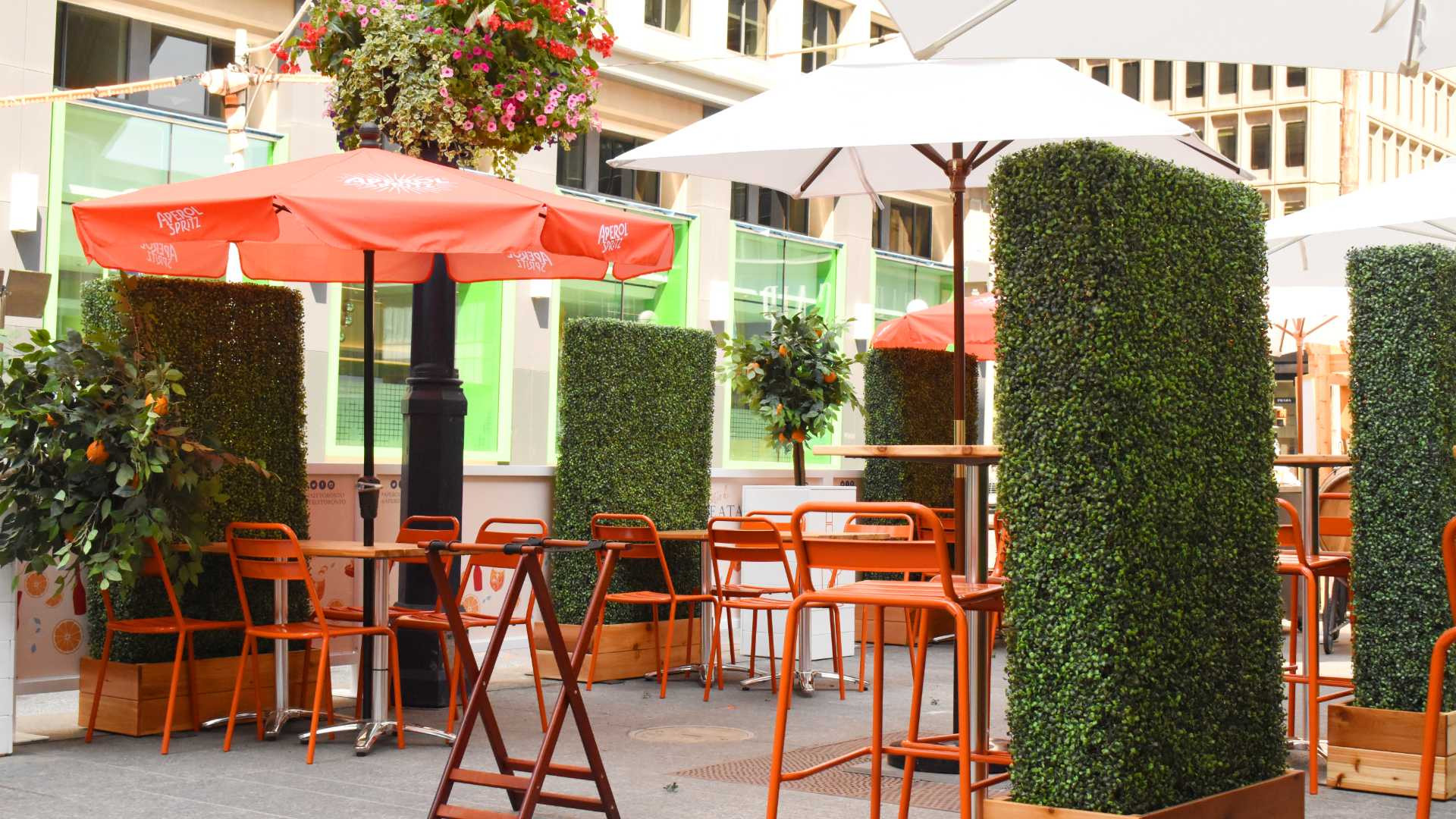 Il Patio di Eataly by Aperol | Outdoor dining on Bloor St.