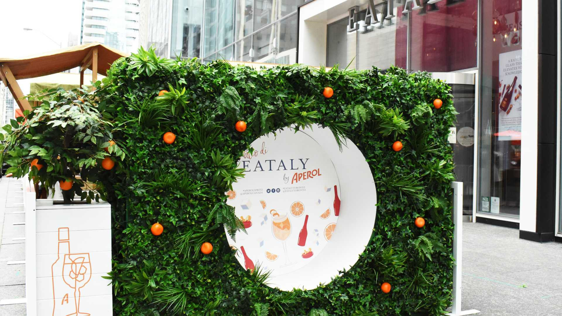 Il Patio di Eataly by Aperol | The pop-up