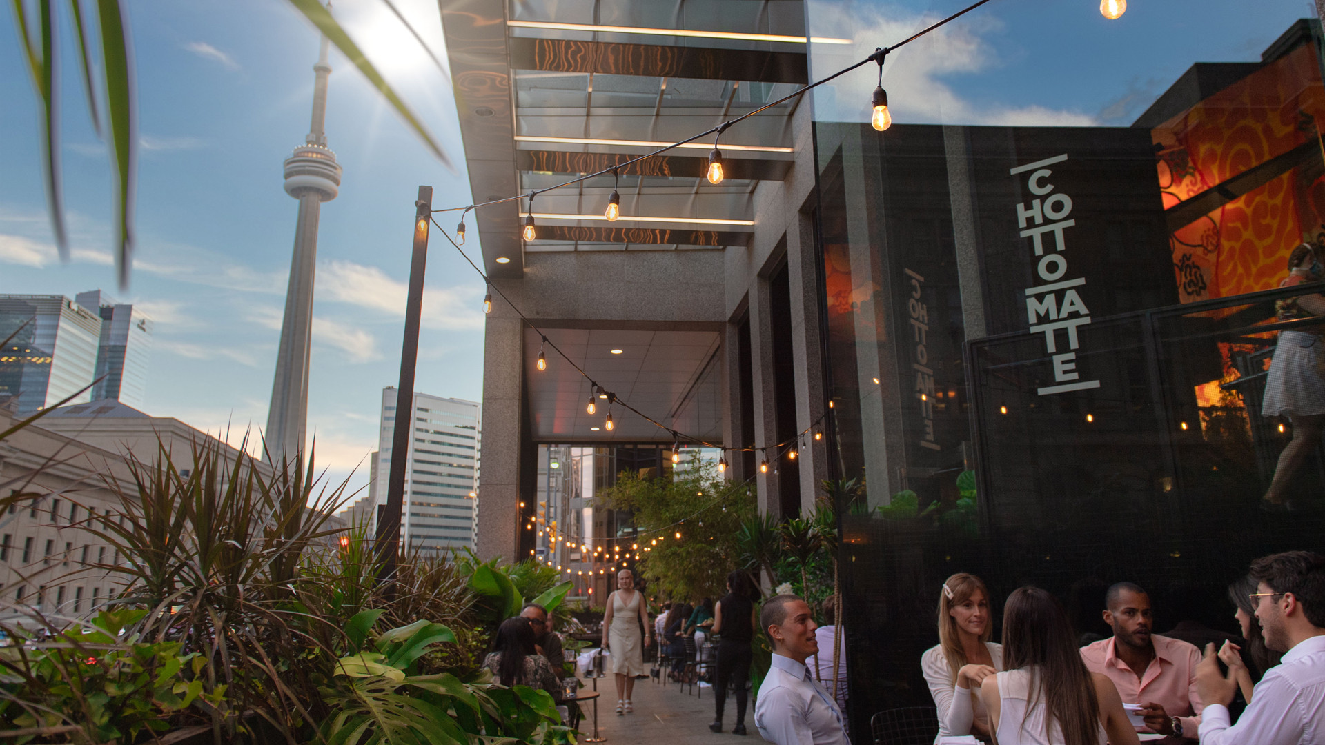 The best patios in Toronto: Chotto Matte
