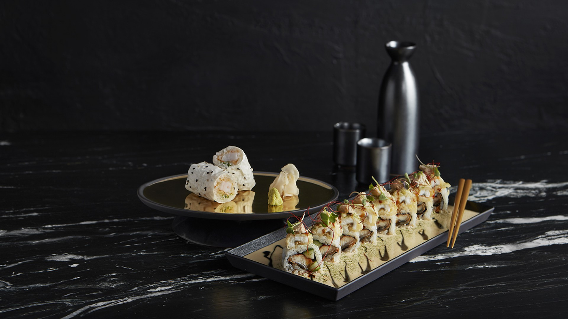 The best restaurants offering delivery and takeout in Toronto: maki rolls at Akira Back