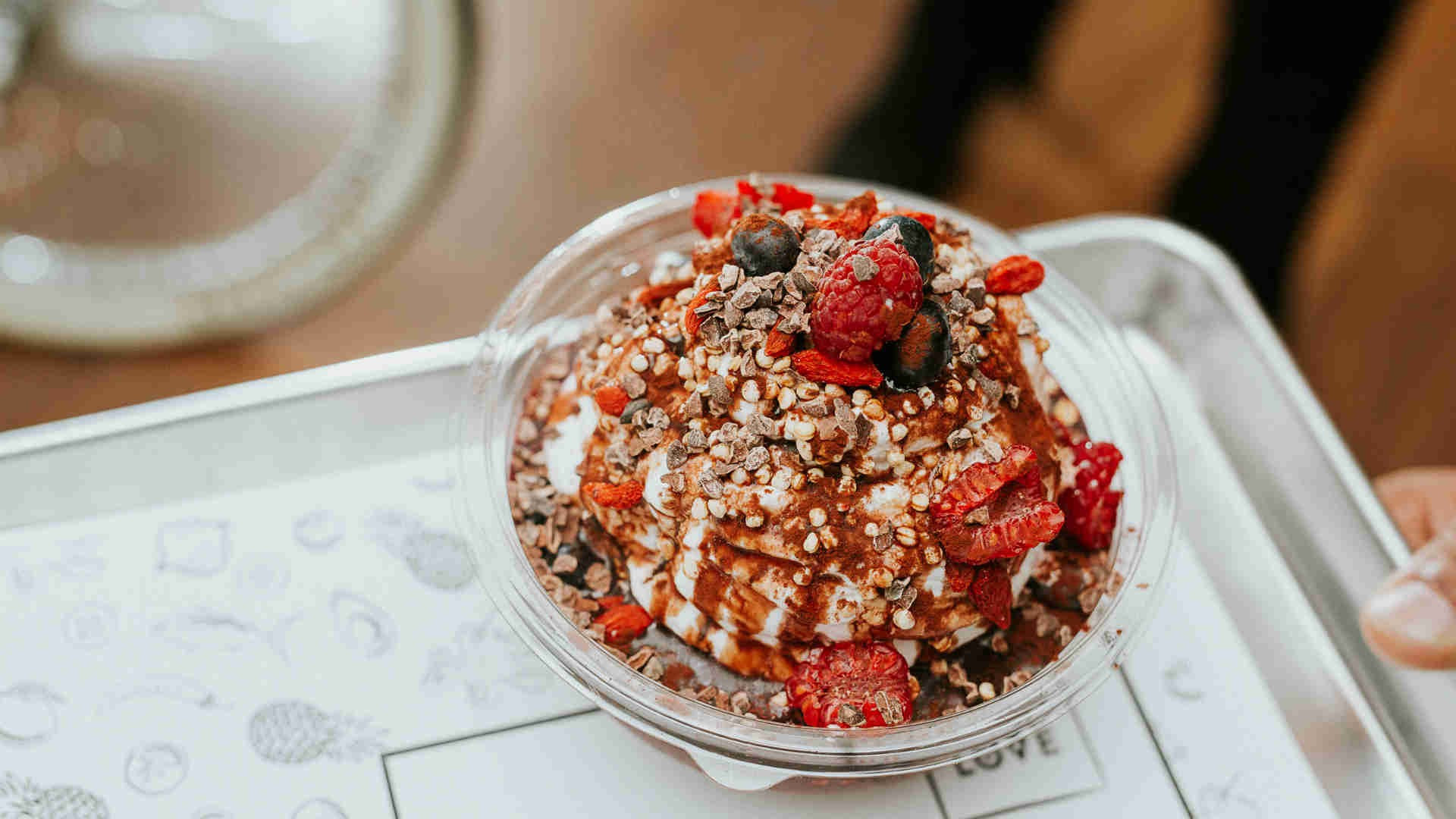 The best restaurants offering delivery and takeout in Toronto: a breakfast bowl at Calii Love