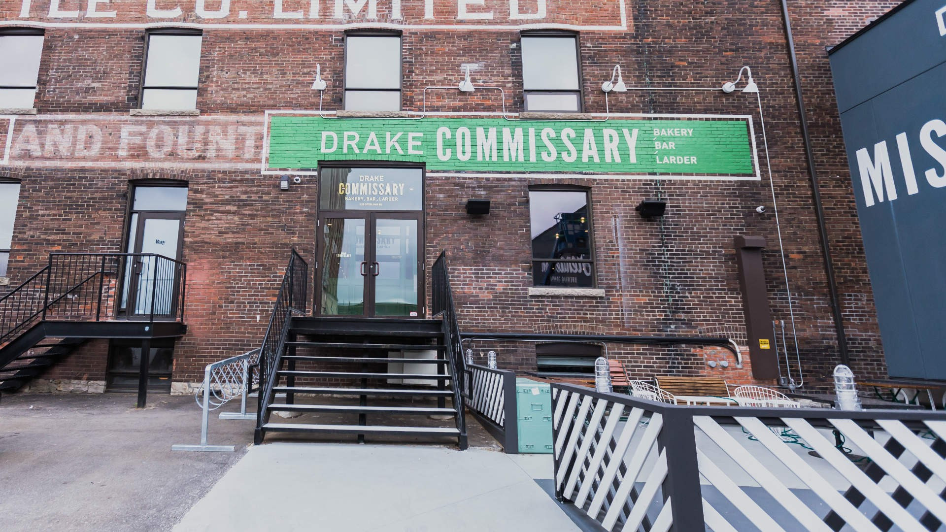 The best restaurants offering delivery and takeout in Toronto: The Drake Commissary exterior