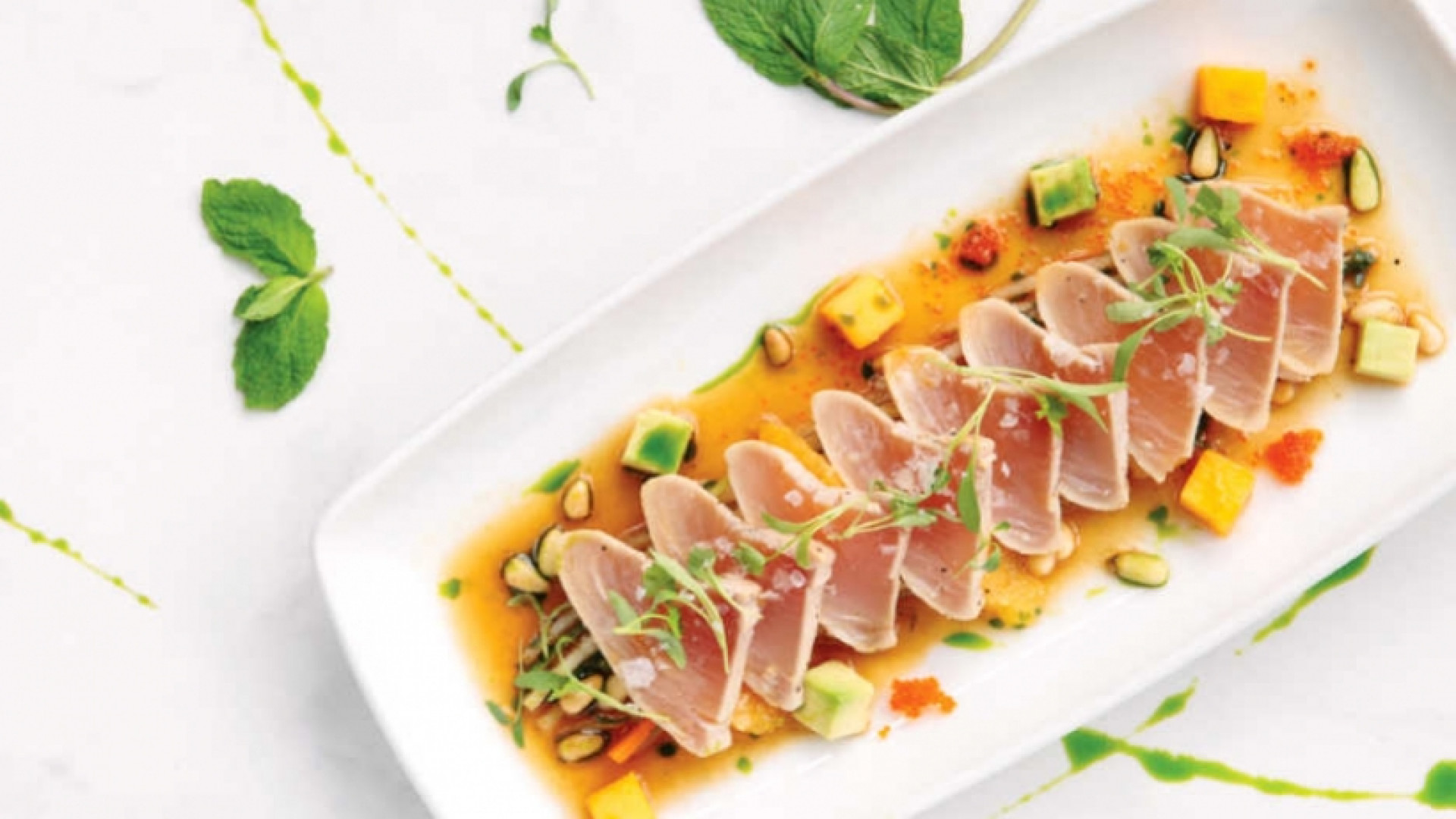 The best restaurants offering delivery and takeout in Toronto | tuna tataki at Cactus Club Cafe