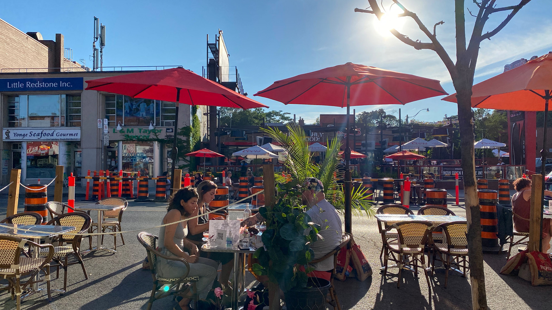 The best patios in Toronto | Little Sister Dutch-Indonesian Food Bar