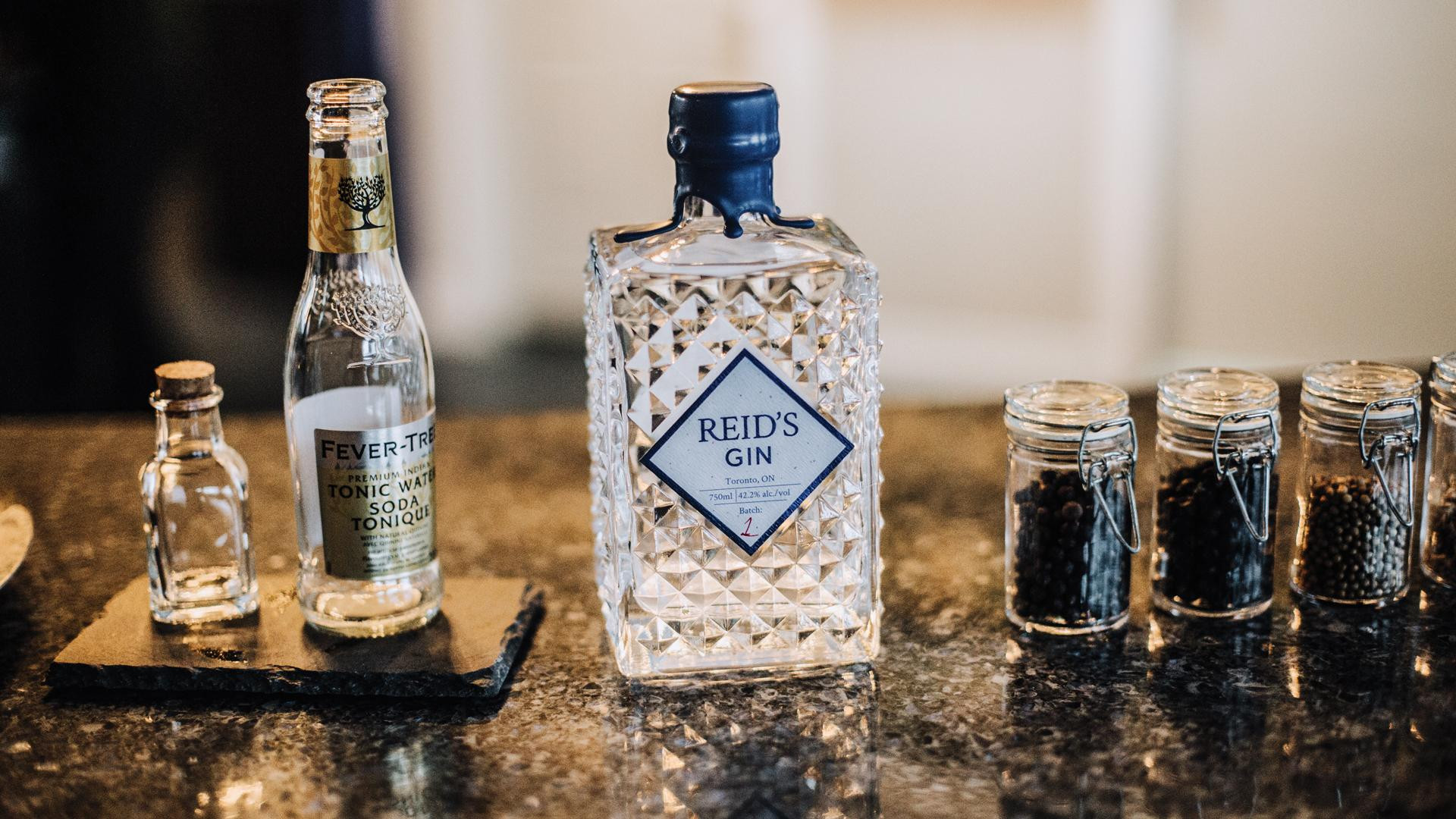 Alcohol delivery in Toronto | Gin from Reid's Distillery in Toronto