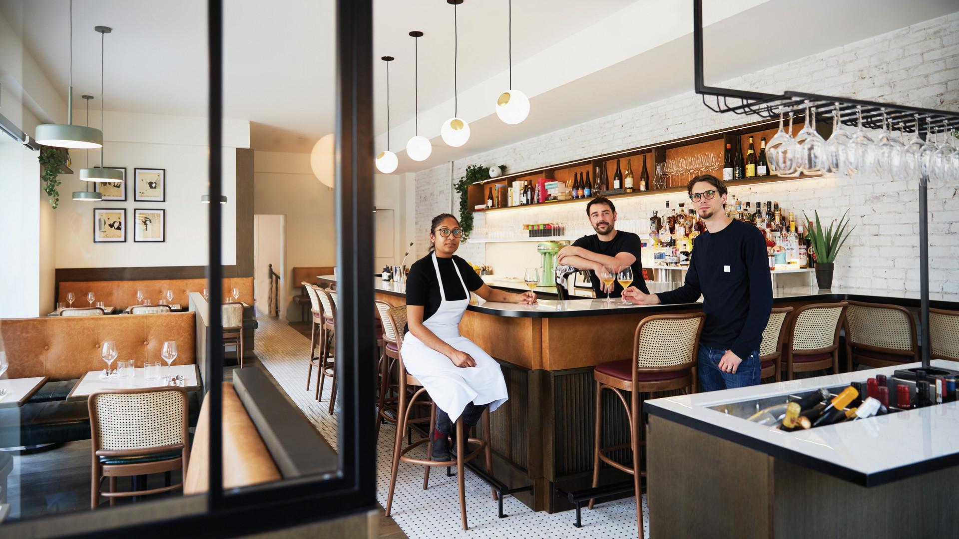 The best new restaurants in Toronto | The interior of French spot Pompette