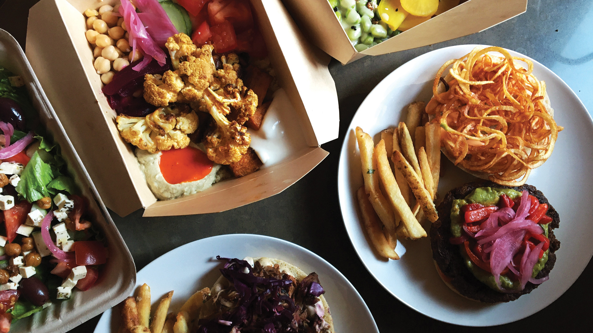 The best new restaurants in Toronto | takeout and delivery from SweetChops vegan restaurant