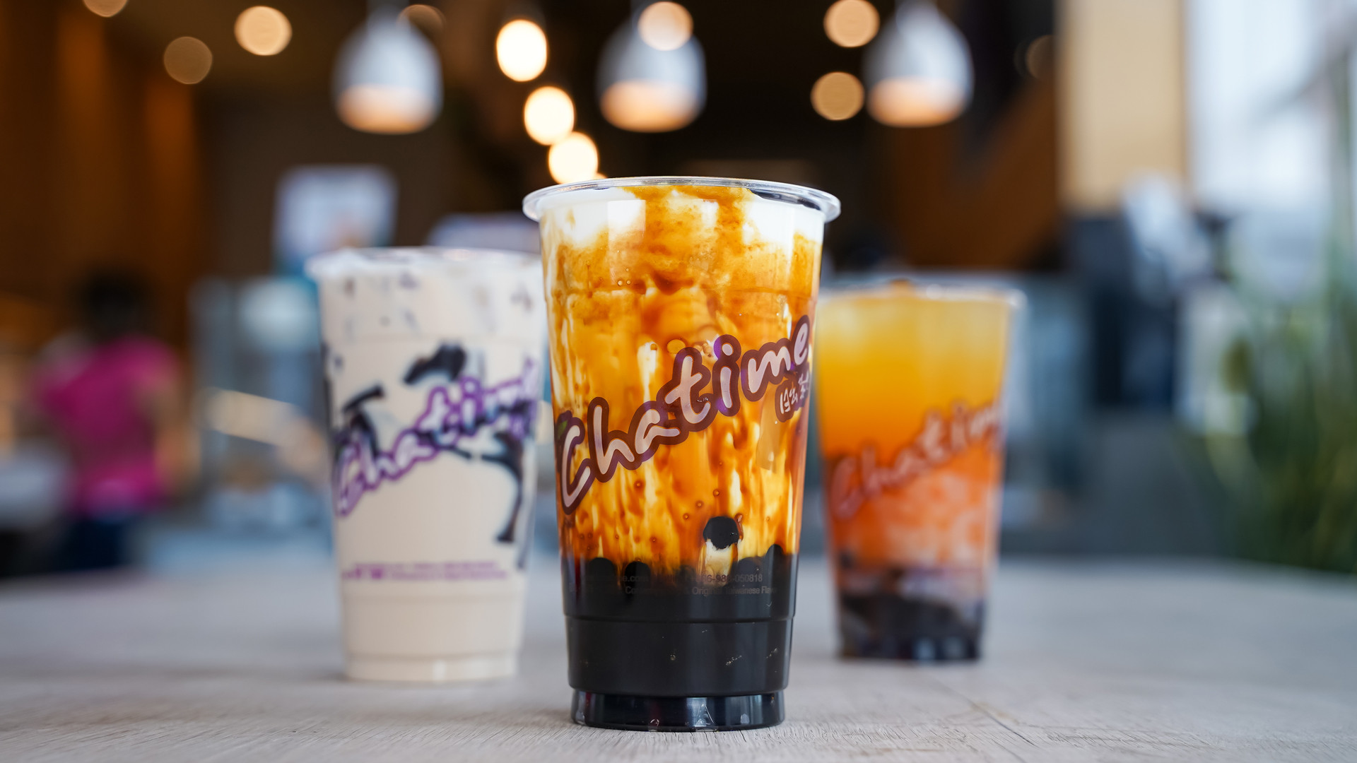 The best bubble tea in Toronto | an assortment of bubble teas from Chatime