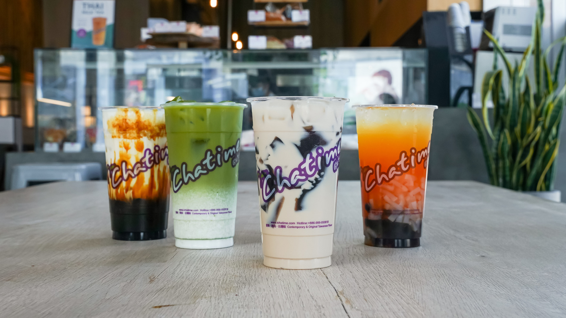The best bubble tea in Toronto | different drink offerings from Chatime