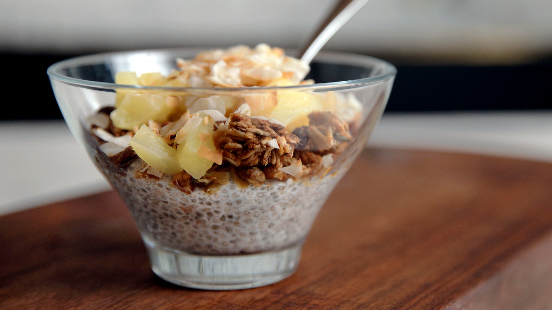 Dole Sunshine for All campaign | Pineapple and Coconut Chia Seed Pudding