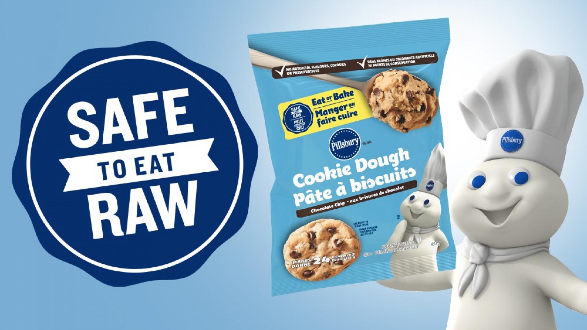 Pillsbury Safe To Eat Raw Cookie Dough
