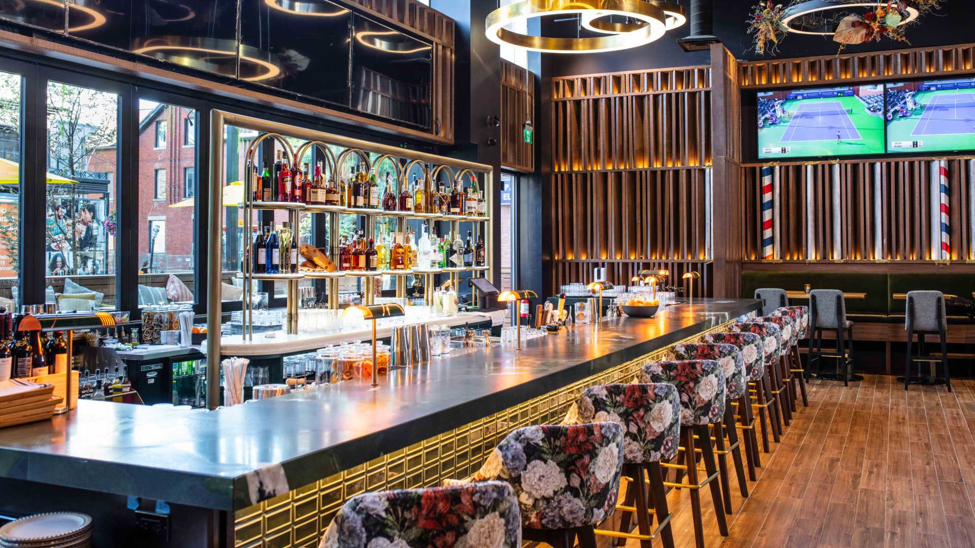 The Pan-Am Lounge at Marked, a new South American restaurant in Toronto