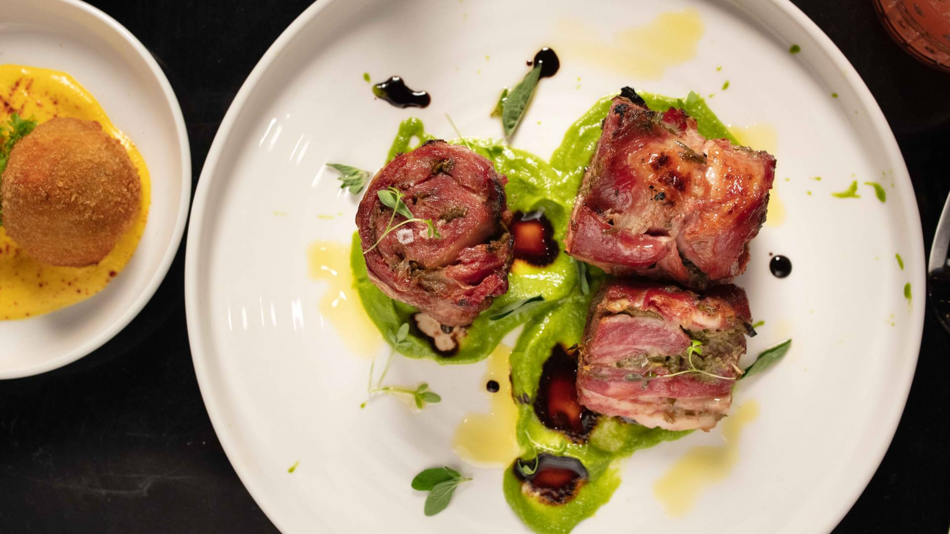 Lamchetta at Marked, a new South American restaurant in Toronto