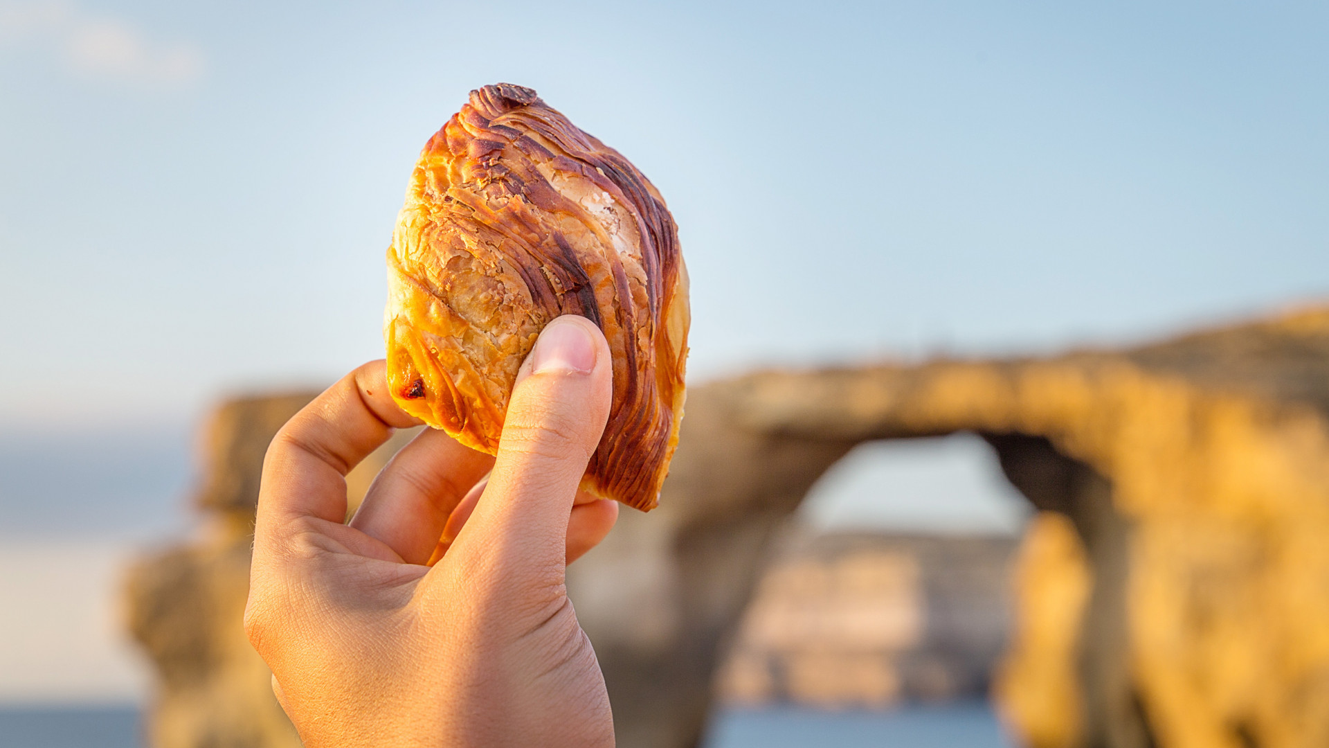 Take a trip to Malta: Pastizz, a traditional savoury pastry
