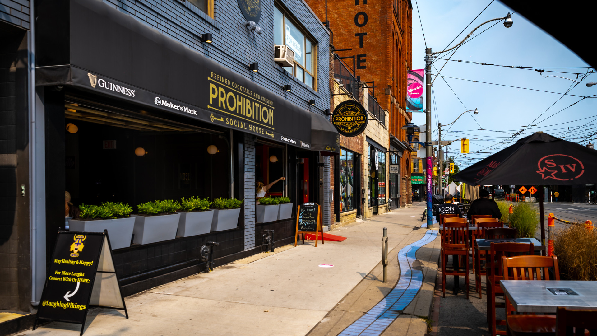 The best new restaurants in Toronto | The exterior of Prohibition Social House