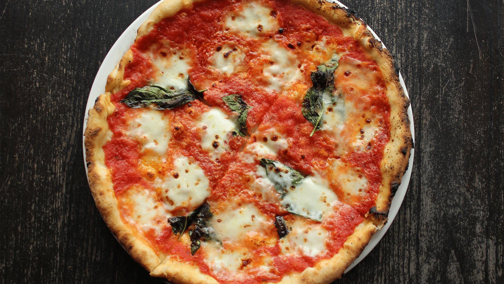 The best pizza in Toronto | A Margherita pizza at Pizzeria Libretto