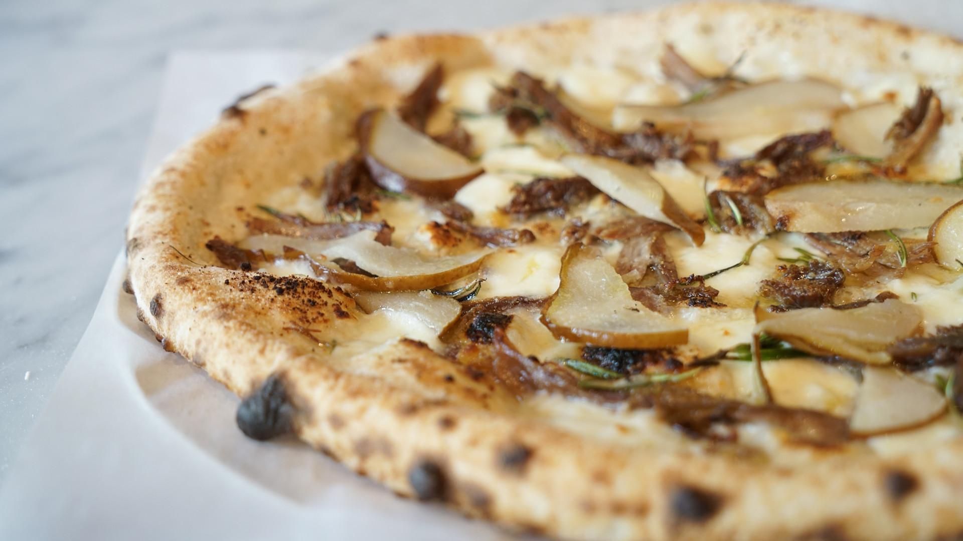 The best pizza in Toronto | A duck confit pizza at Pizzeria Libretto