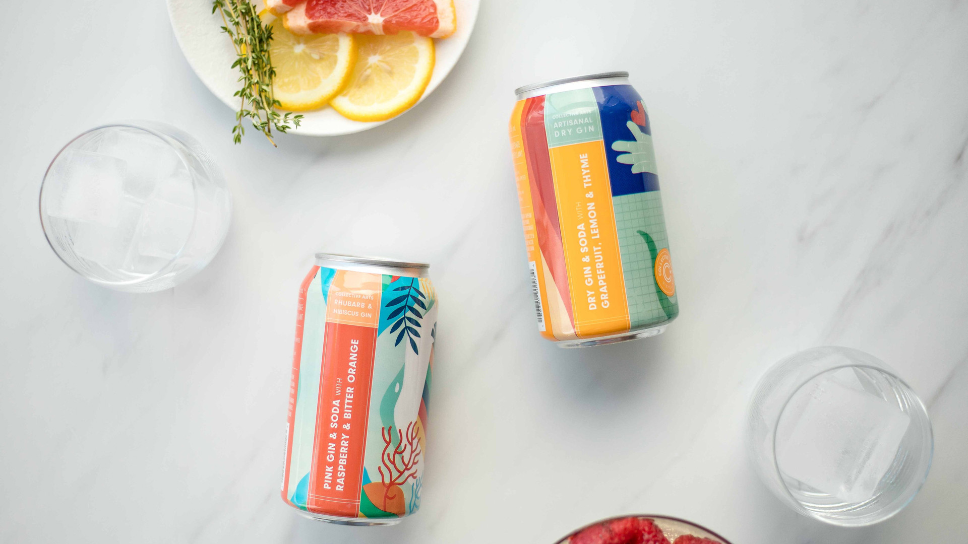 Collective Arts new Toronto brewery and distillery | Collective Arts sparkling gin soda in a can