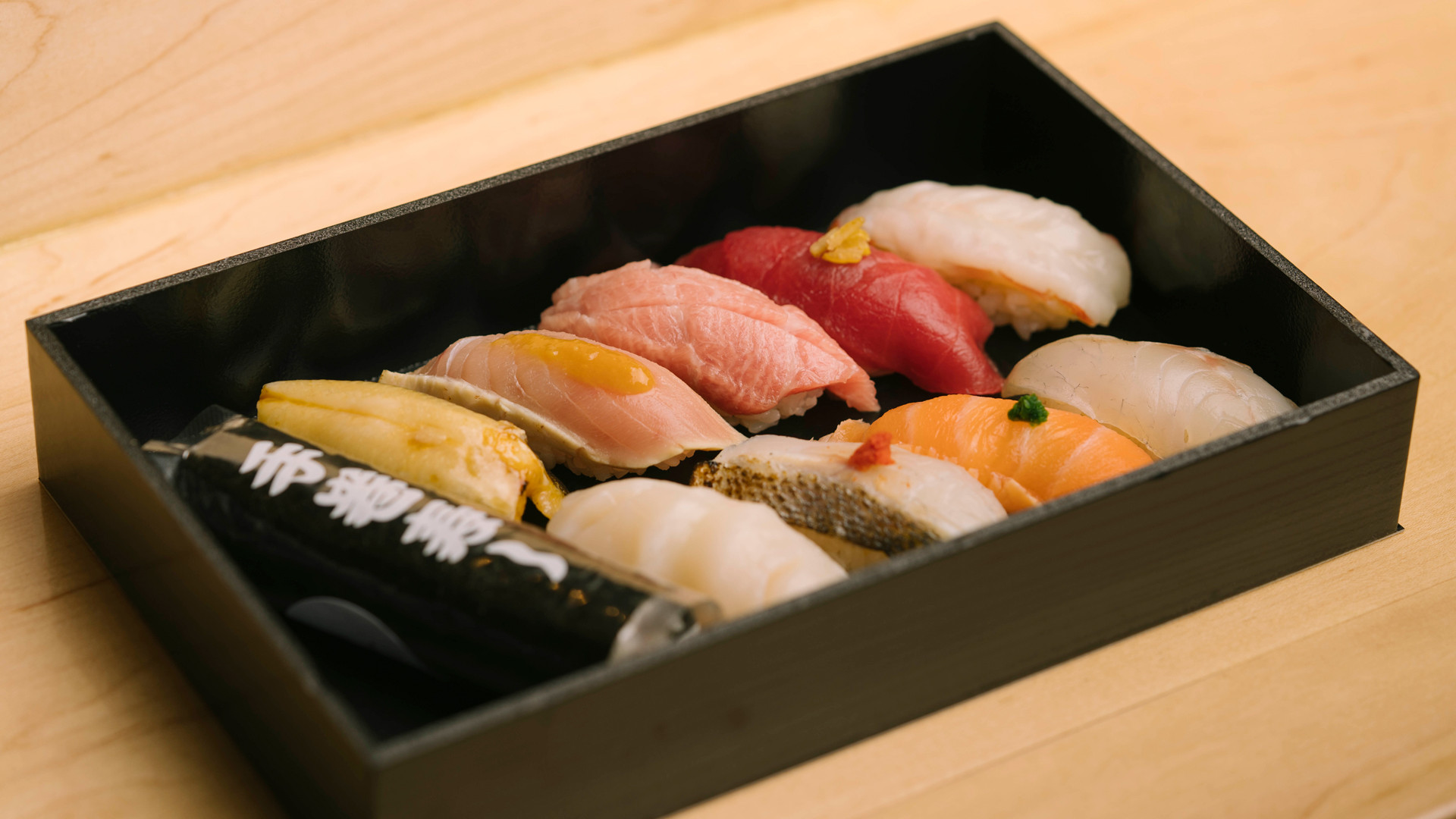 The best sushi in Toronto | Omakase sushi to-go at Tachi stand-up sushi bar