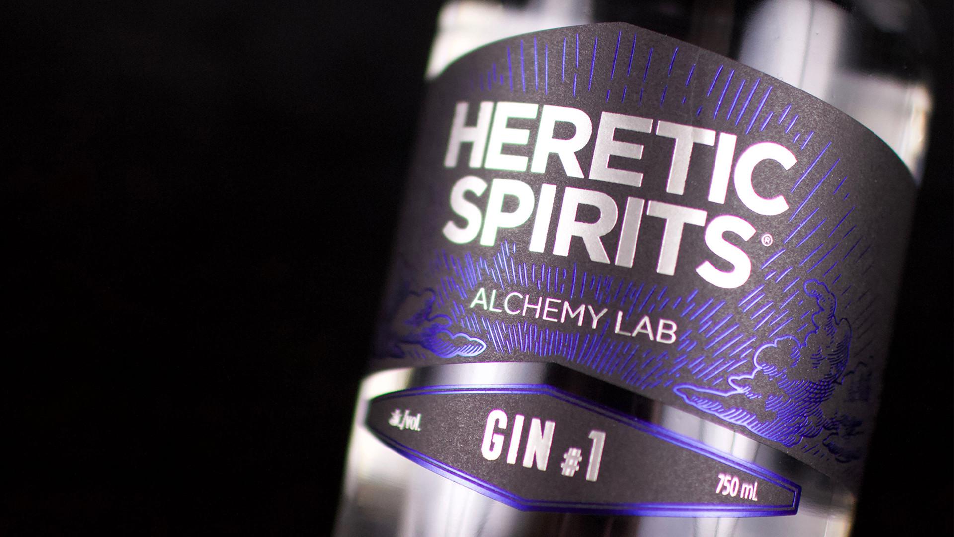Heretic Spirits award-winning vodka and gin | Heretic Spirits Gin #1