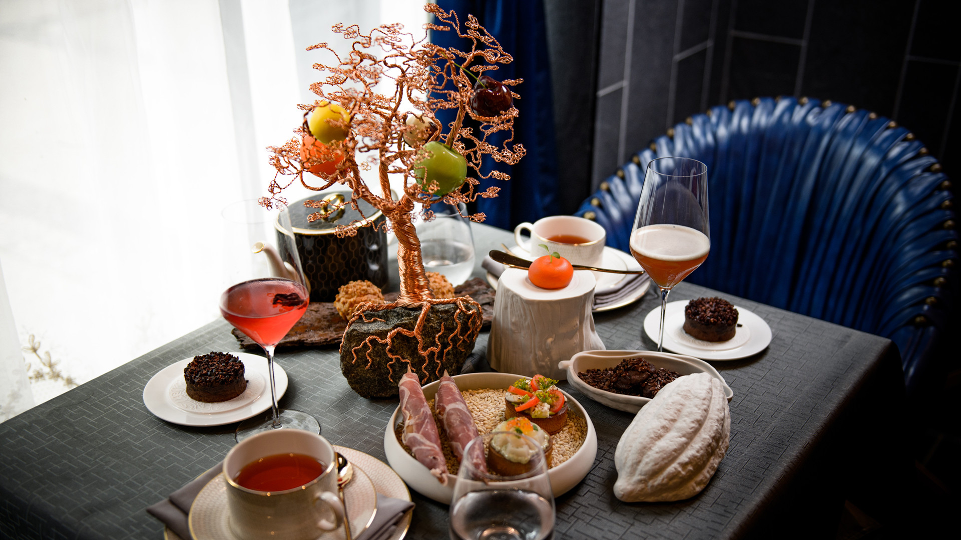 The best new restaurants in Toronto | Afternoon tea at Enigma Fine Dining
