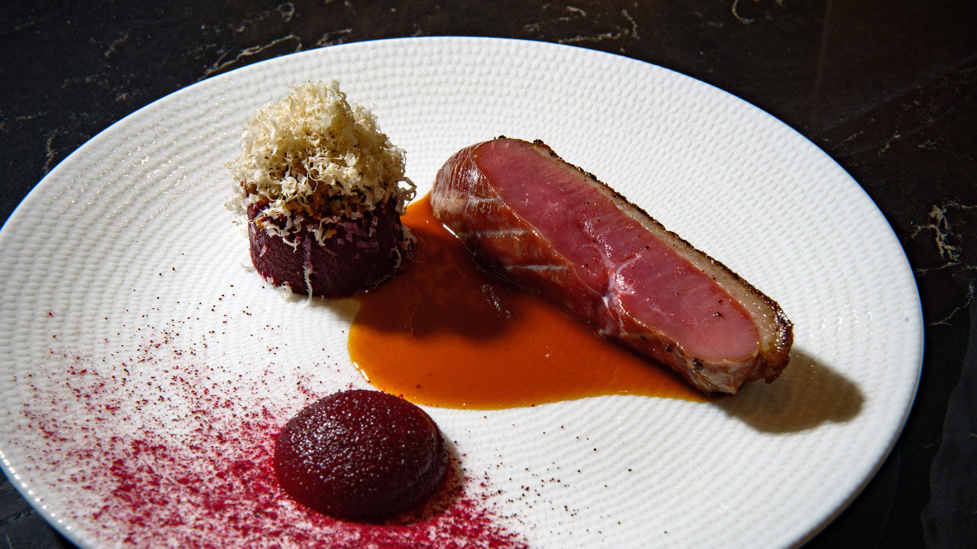 The best new restaurants in Toronto | A duck dish at Enigma Fine Dining