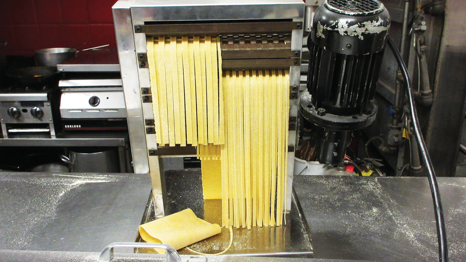 Local businesses in Toronto | A pasta maker at Pasta Pantry