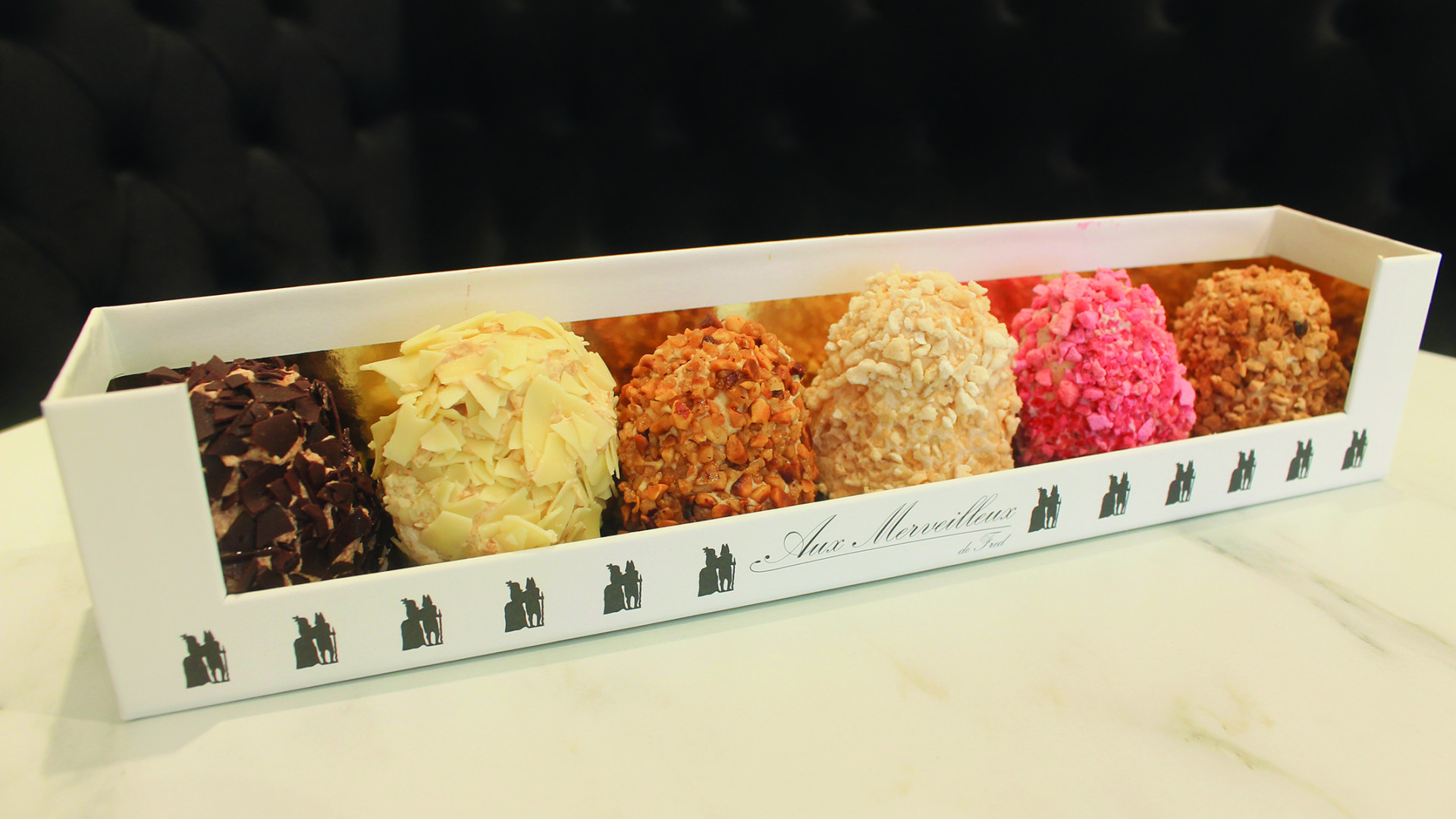 Toronto's French Bakery Marvelous by Fred | Gift box of assorted French pastries